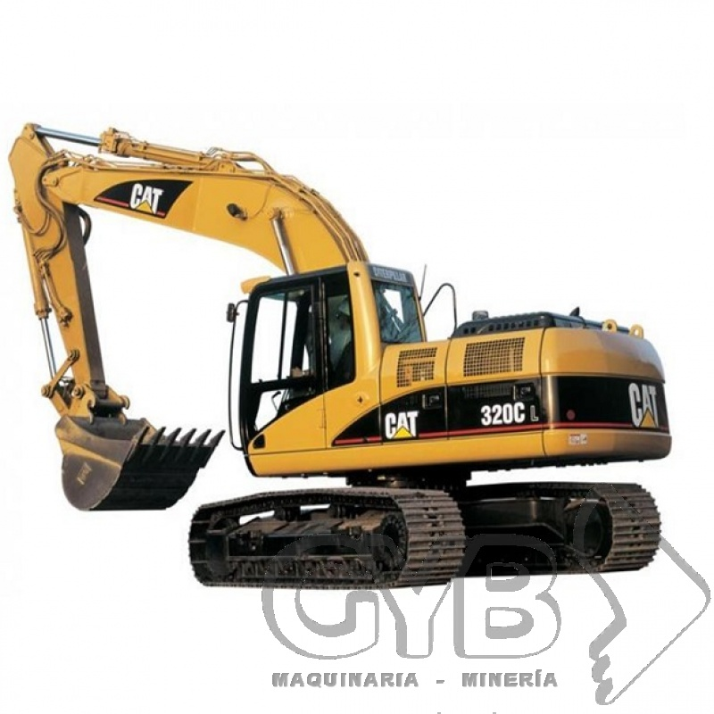 Renta de Excavadora 320C