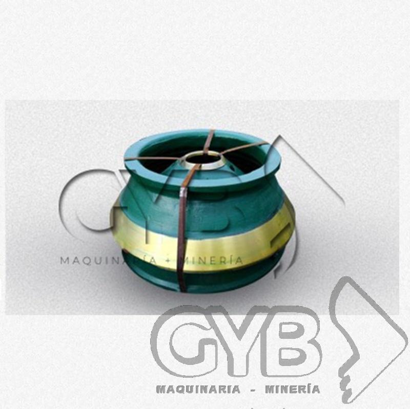 Venta de Mantle y Bowl Liner Cono HP300 para Equipo de Trituración