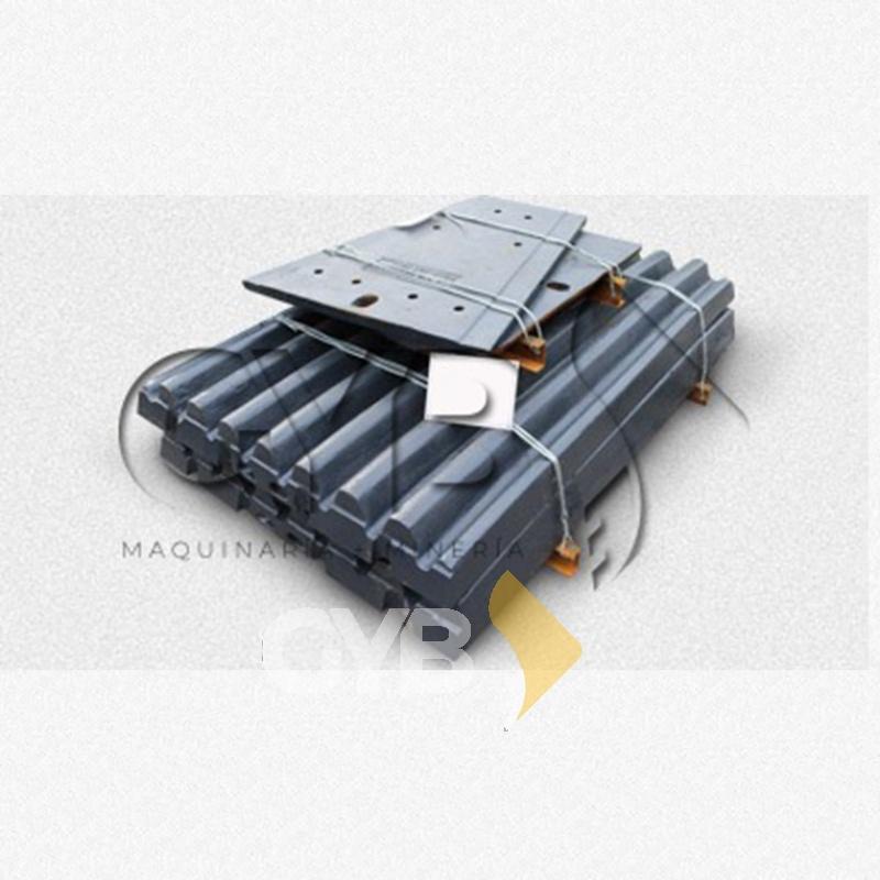 Venta de Mobile & Fix Jaw Plate/Muela Fija Y Muela Móvil Sandvik para Equipo de Trituración