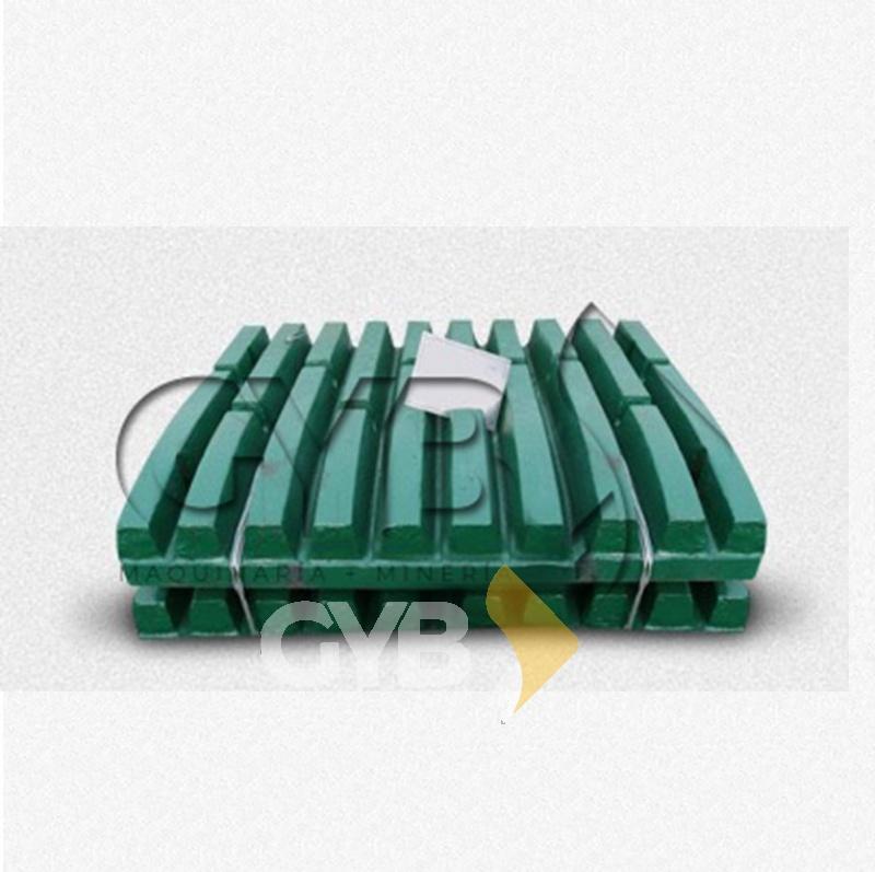 Venta de Mobile & Fix Jaw Plate/Muela Fija y Muela Móvil para Equipo de Trituración