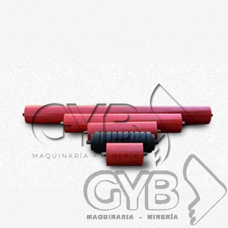 Venta de Rodillos de Diferentes Medidas de Largo y 4-1/2 de Diámetro para Banda Transportadora