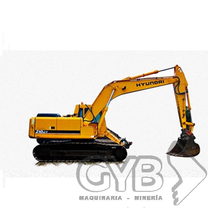 El Mejor Servicio en Renta de Excavadora 210 LC7
