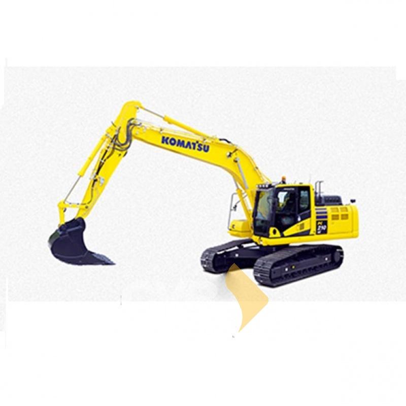 Servicio en Renta de Excavadora PC210