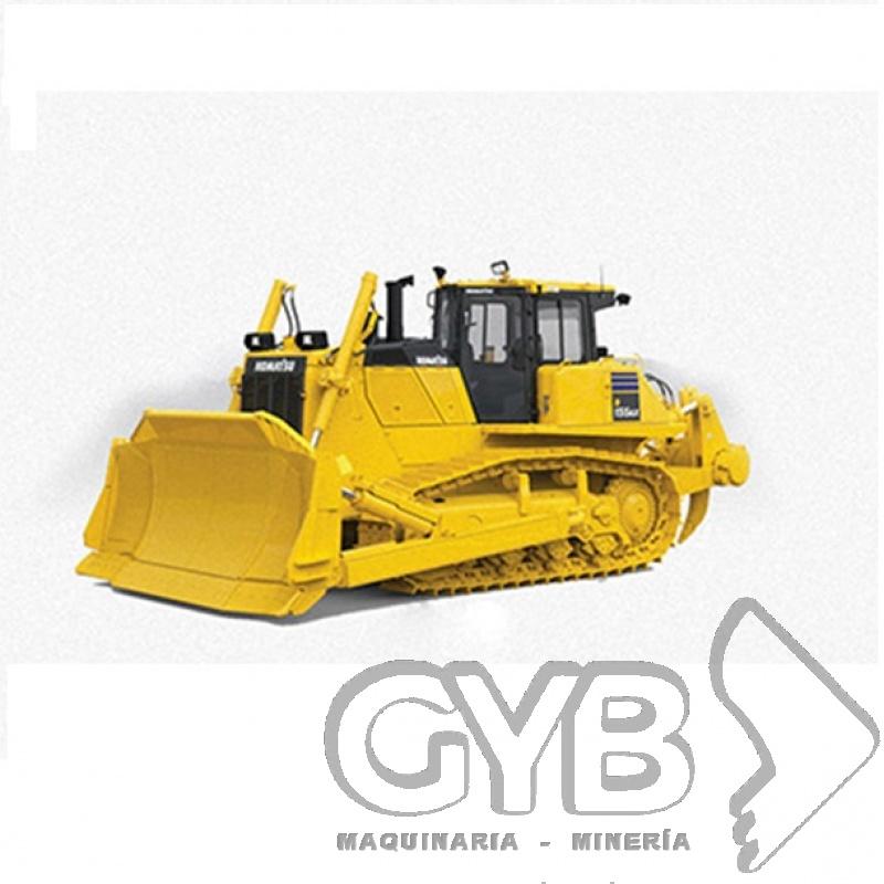 Servicio de Renta de Tractor Sobre Orugas D155AX