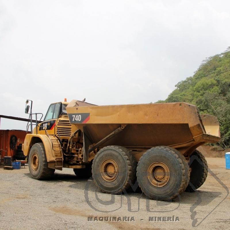 Camión Mineros en Renta