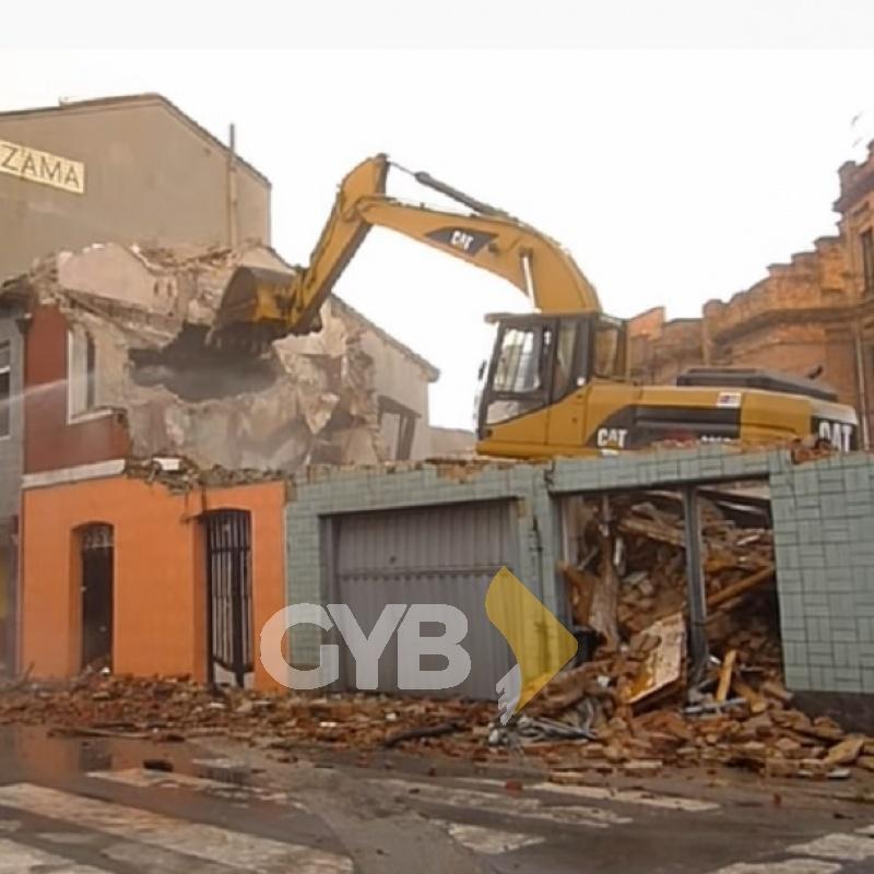 Maquinaria de Demolición en Renta